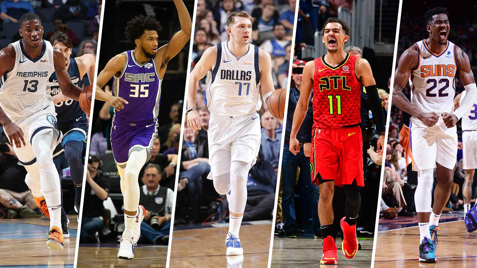 25193ac2eaa The NBA on Tuesday announced the list for 2019 All-Rookie Teams. Luka Doncic  from the Dallas Mavericks