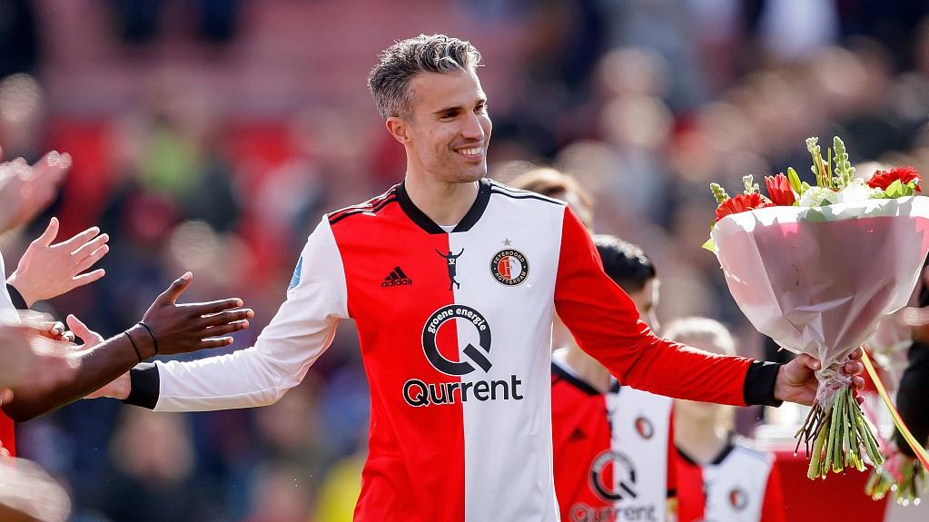 Robin van Persie retires after last game with Feyenoord - CGTN