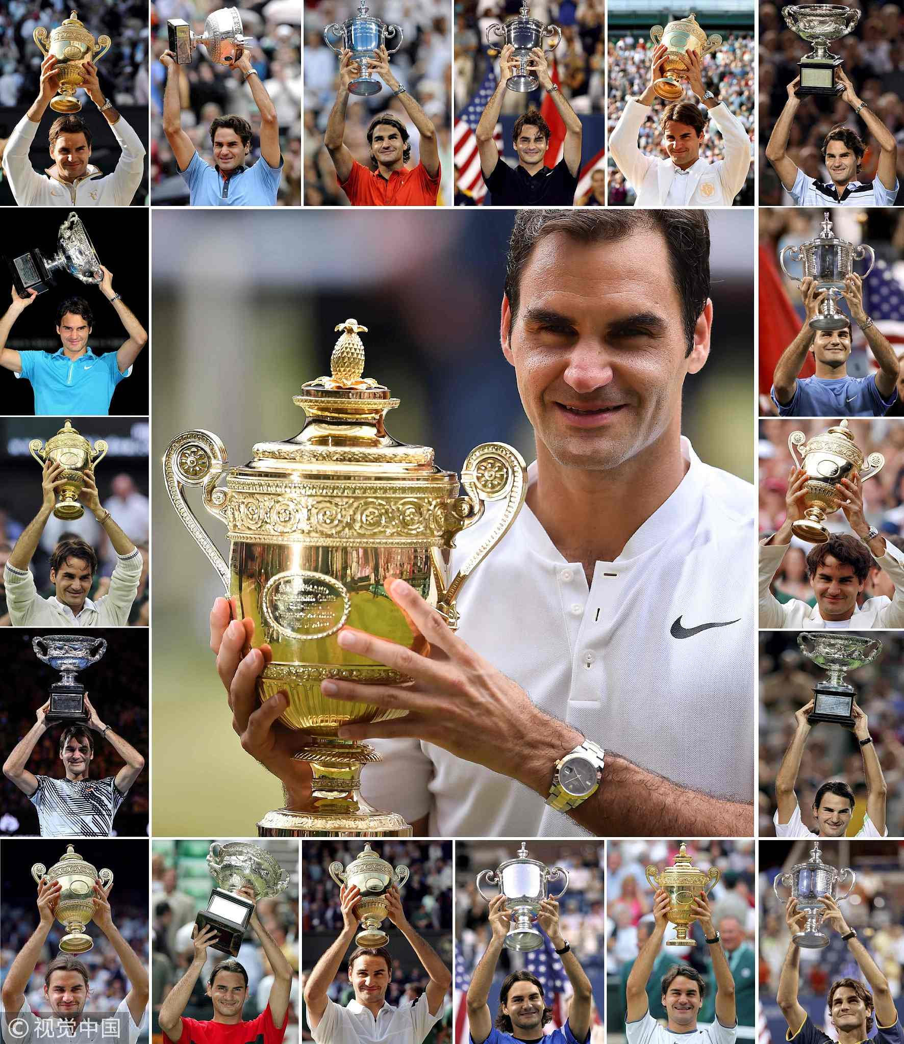 Roger Federer and his legendary records - CGTN