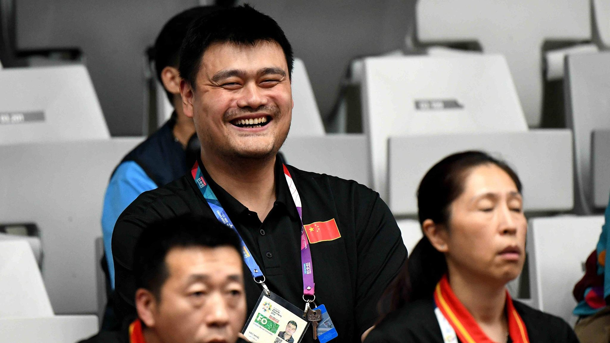 yao ming s name s in the air for china s basketball success at asian