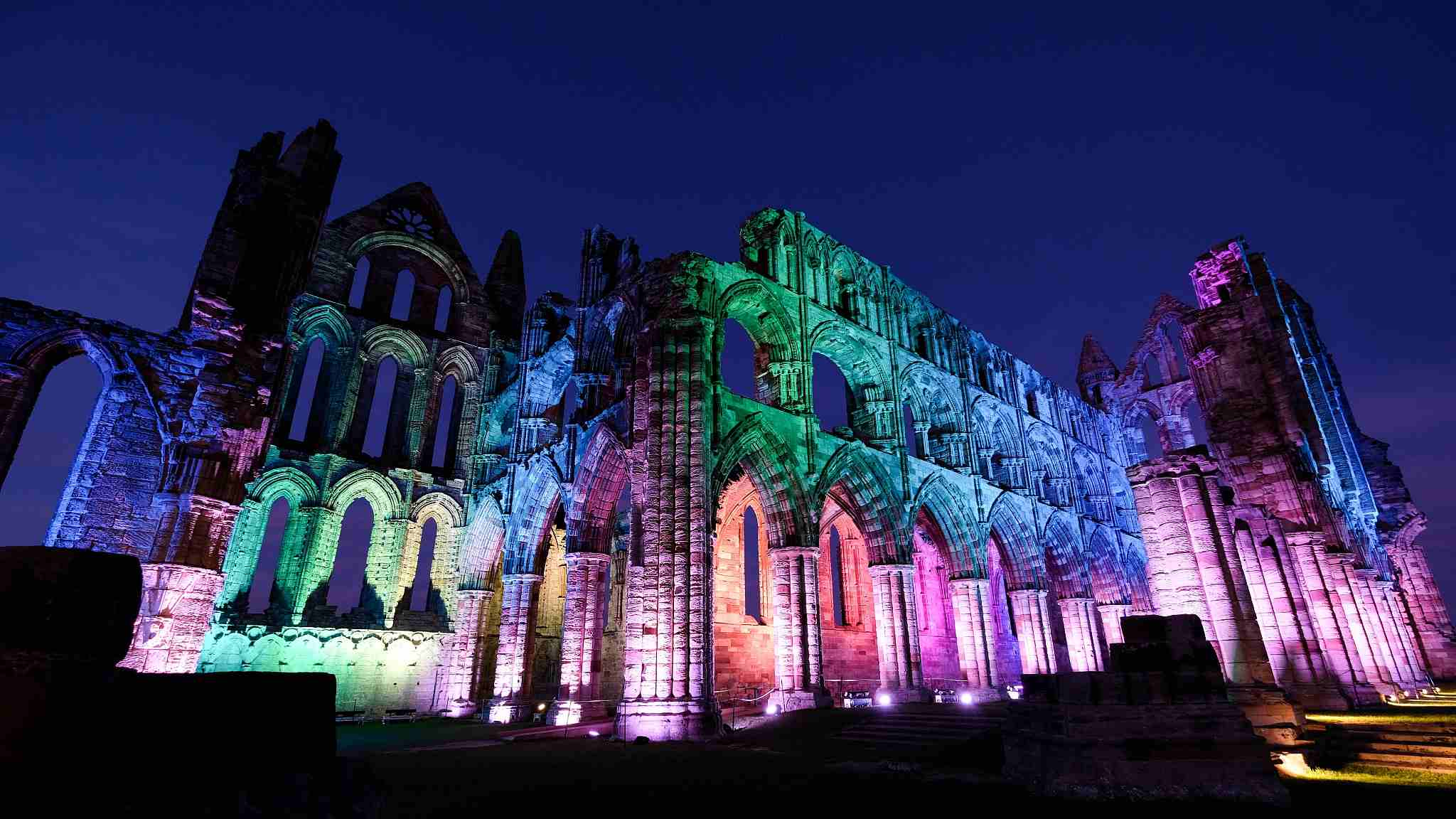 Dracula S Birthplace Lights Up For Cgtn