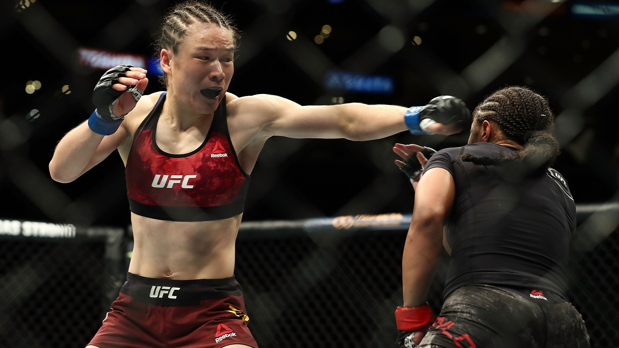 Chinese MMA fighter Zhang Weili battles obstacles into UFC, wins