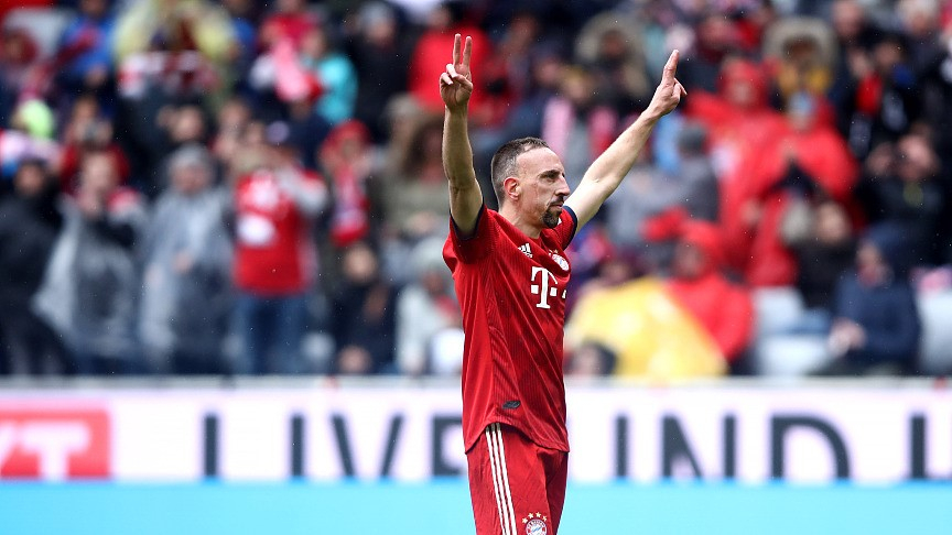 King of Allianz Arena' Franck Ribery to leave Bayern Munich