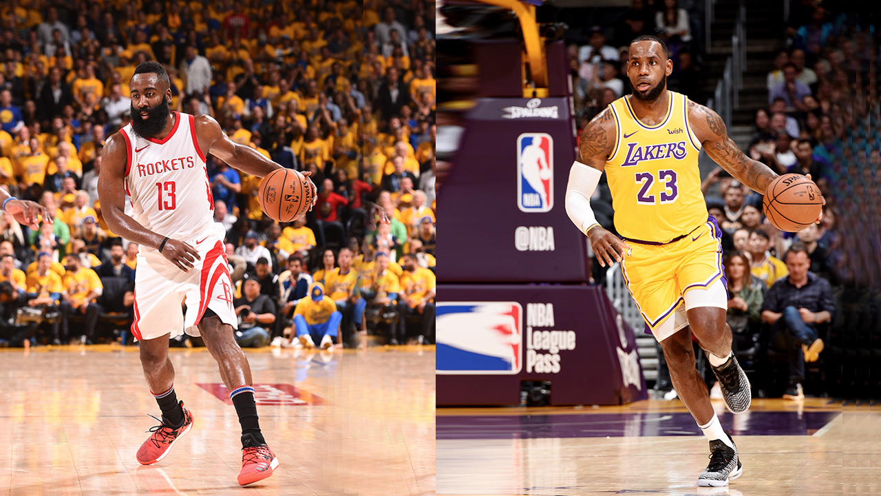 c784829401b8 Watching the first confrontation between LeBron James  23 and James Harden   13 on October 20 will cost you 934 US dollars on average.  VCG Photo.