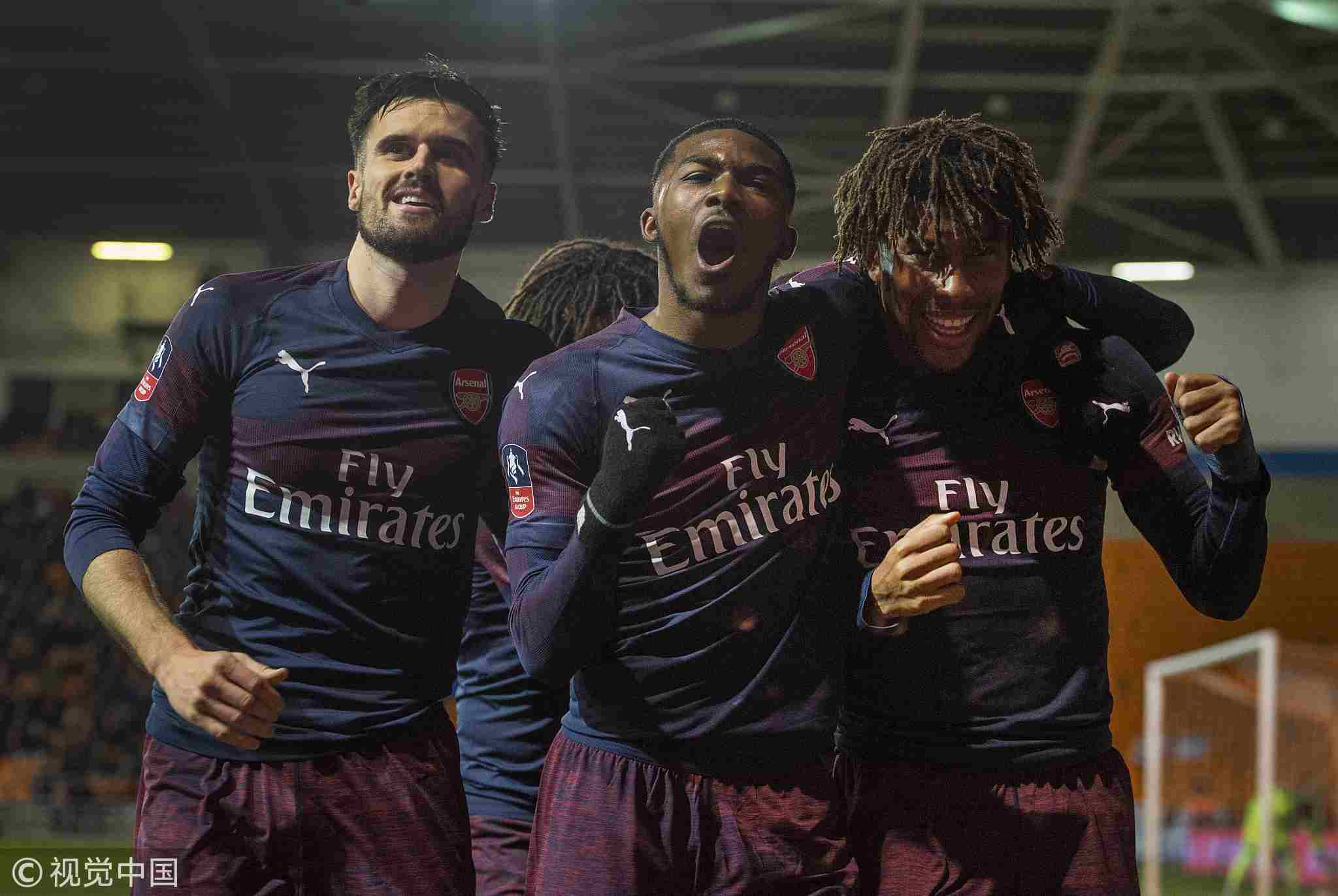 Image result for Ainsley Maitland-Niles Carl Jenkinson 2019
