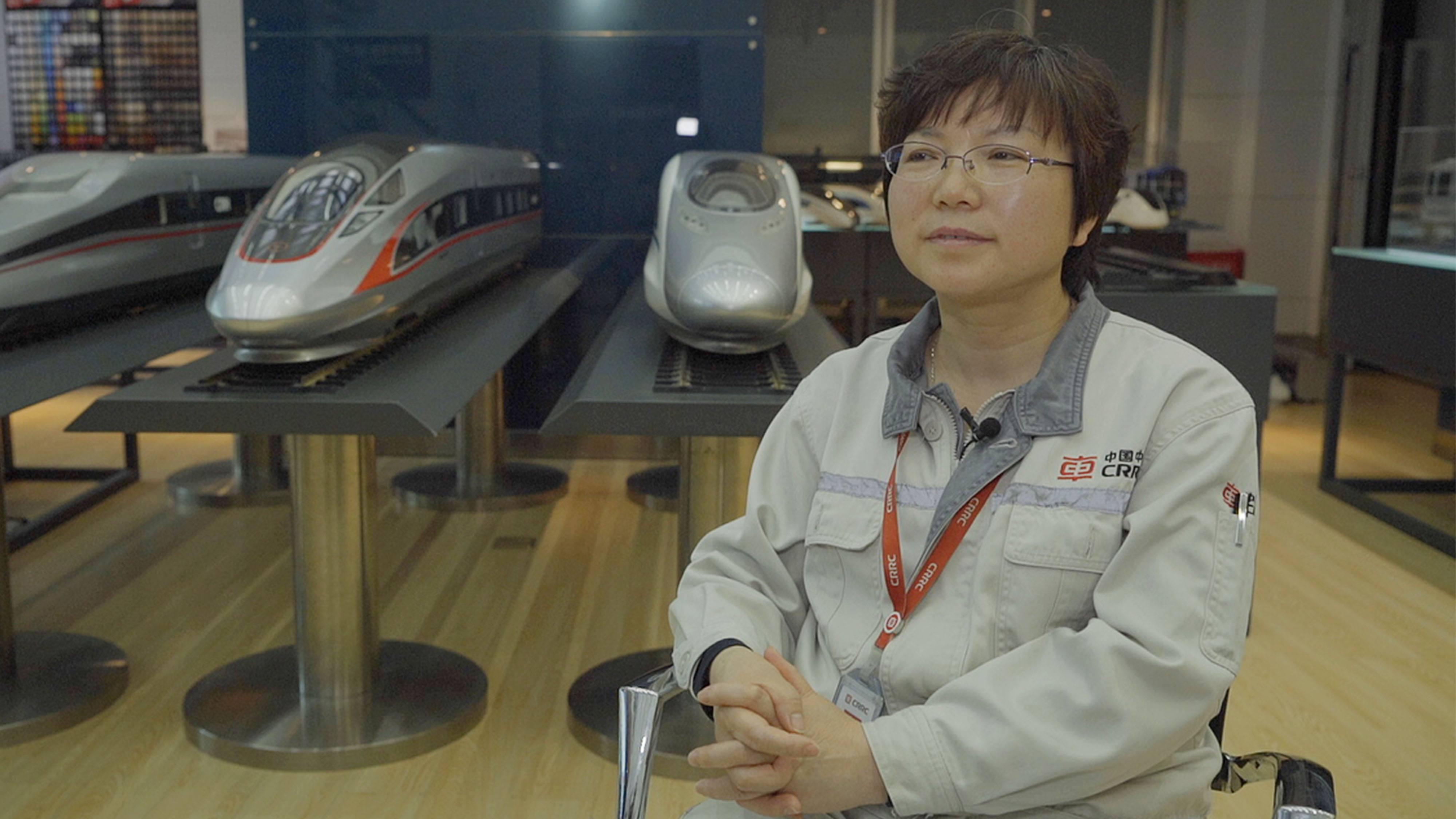 20944c85d0 Full steam ahead: China drives tech push in high-speed rail - CGTN