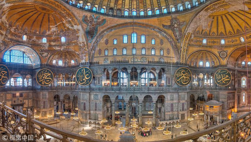 Erdogan Ingin Rubah Status Hagia Sofia Jadi Masjid