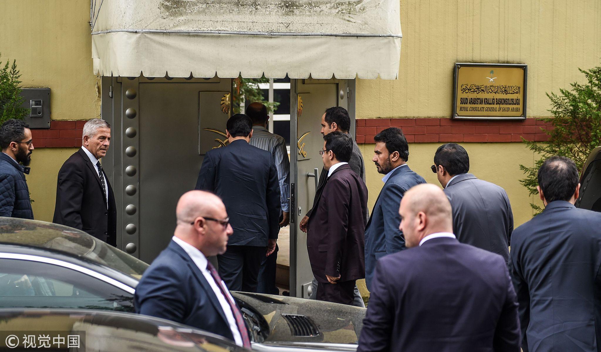 Turkey says will search consulate where Saudi journalist vanished - CGTN