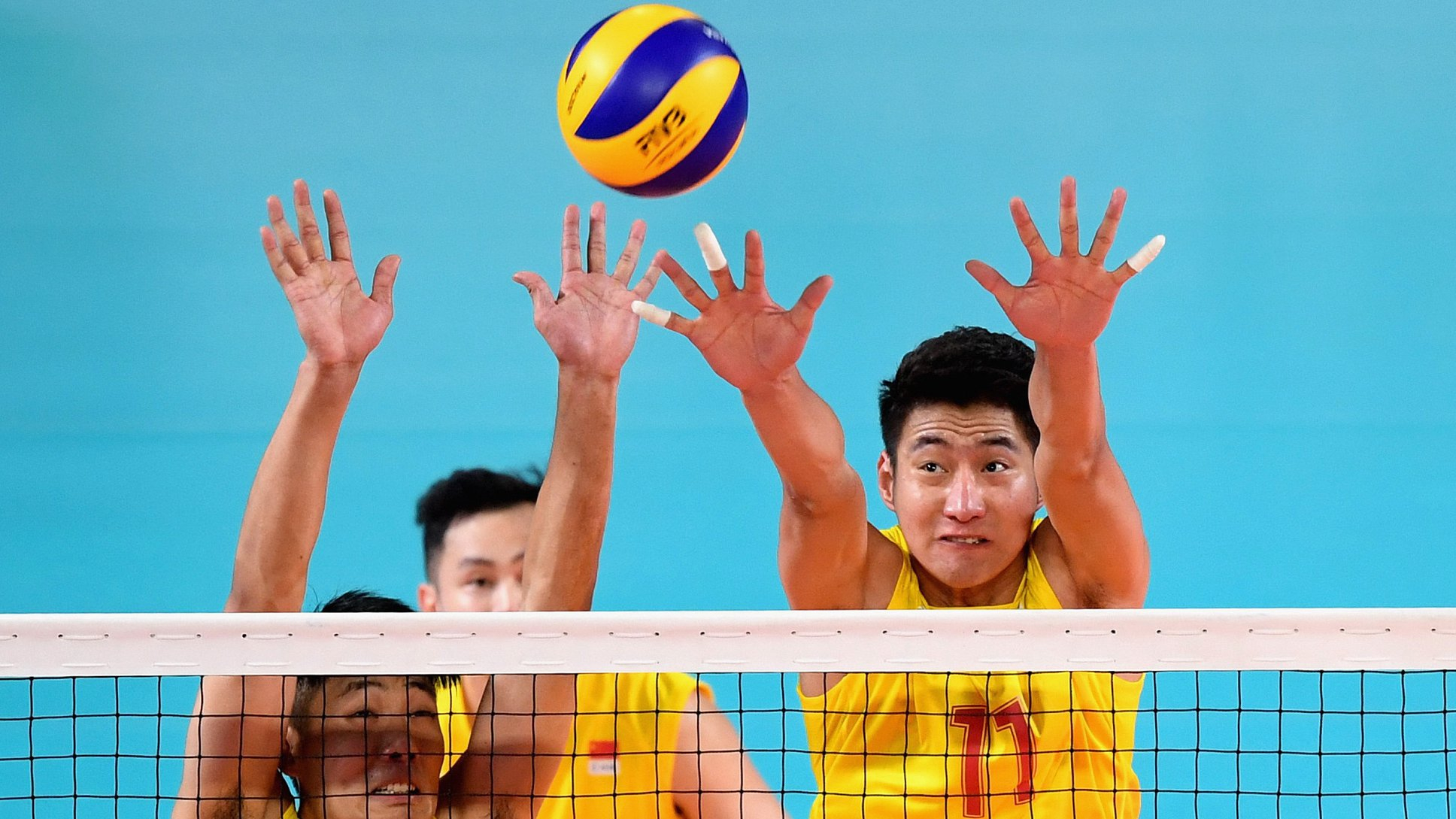 China S Men S Volleyball Team Knocked Out Of Asian Games 2018 By Iran Cgtn