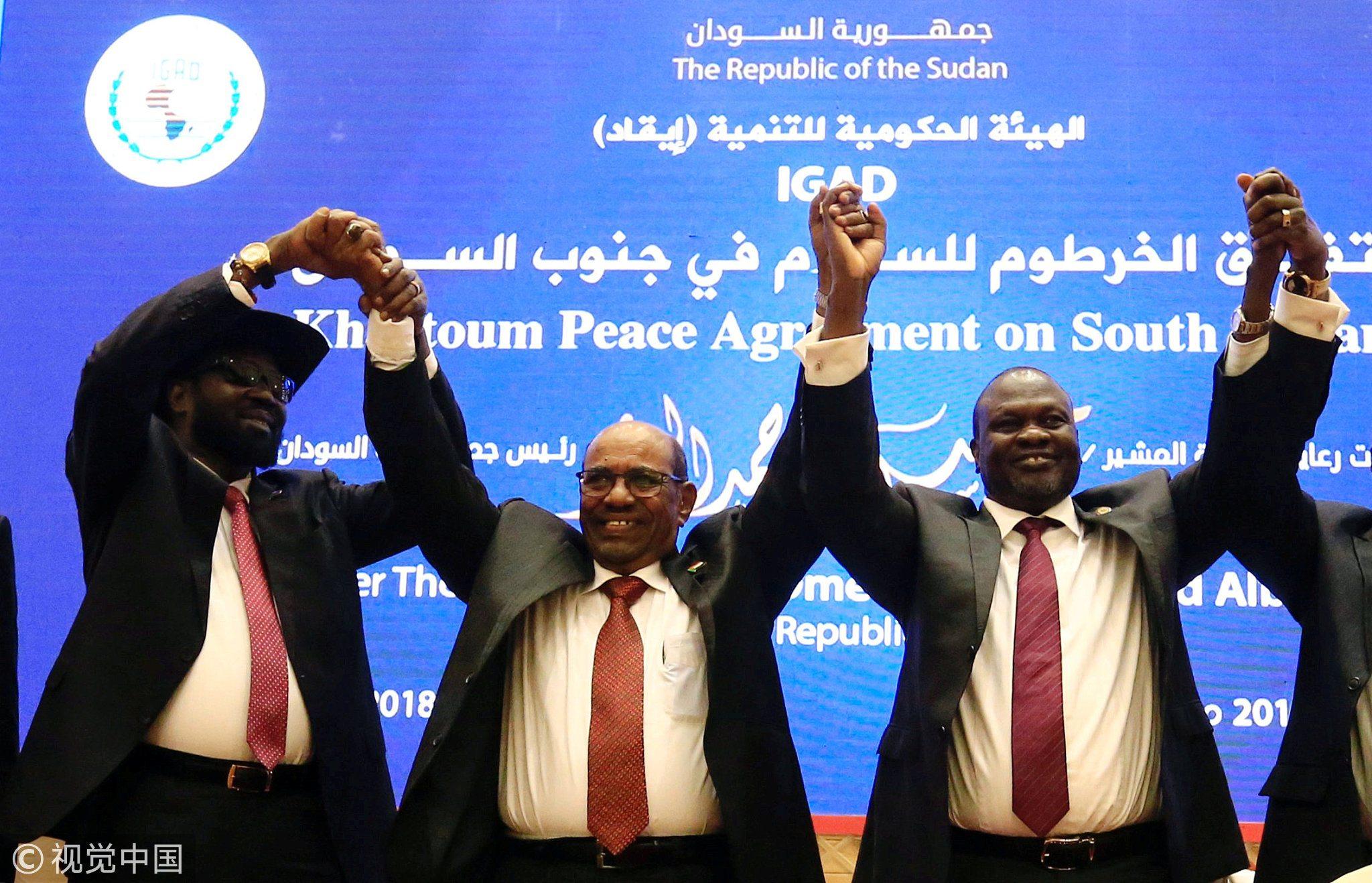 South Sudan Rivals To Sign Final Power Sharing Deal In Khartoum Cgtn