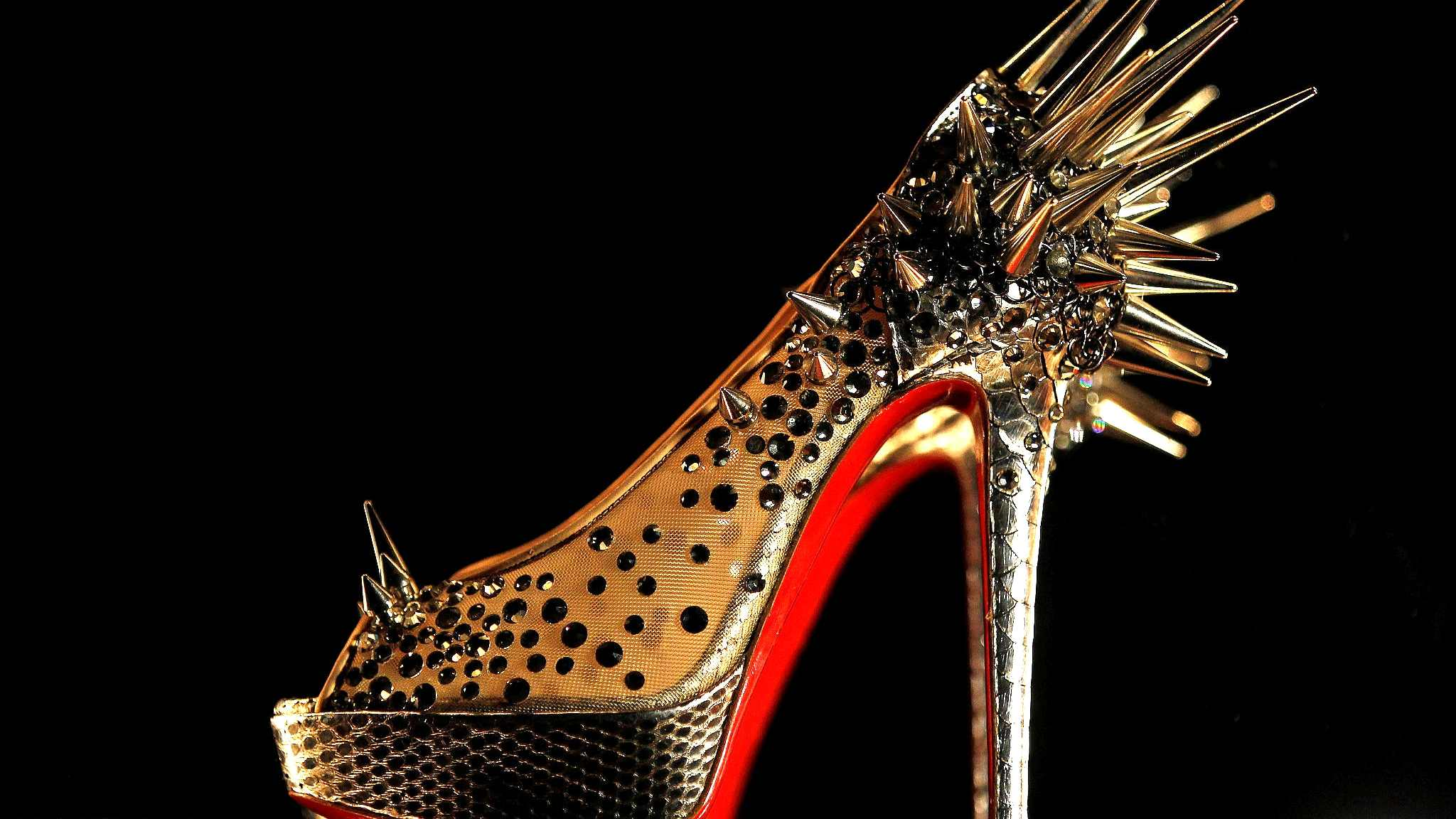 3351a62c866 Louboutin wins EU court battle over trademark red-soles shoes - CGTN