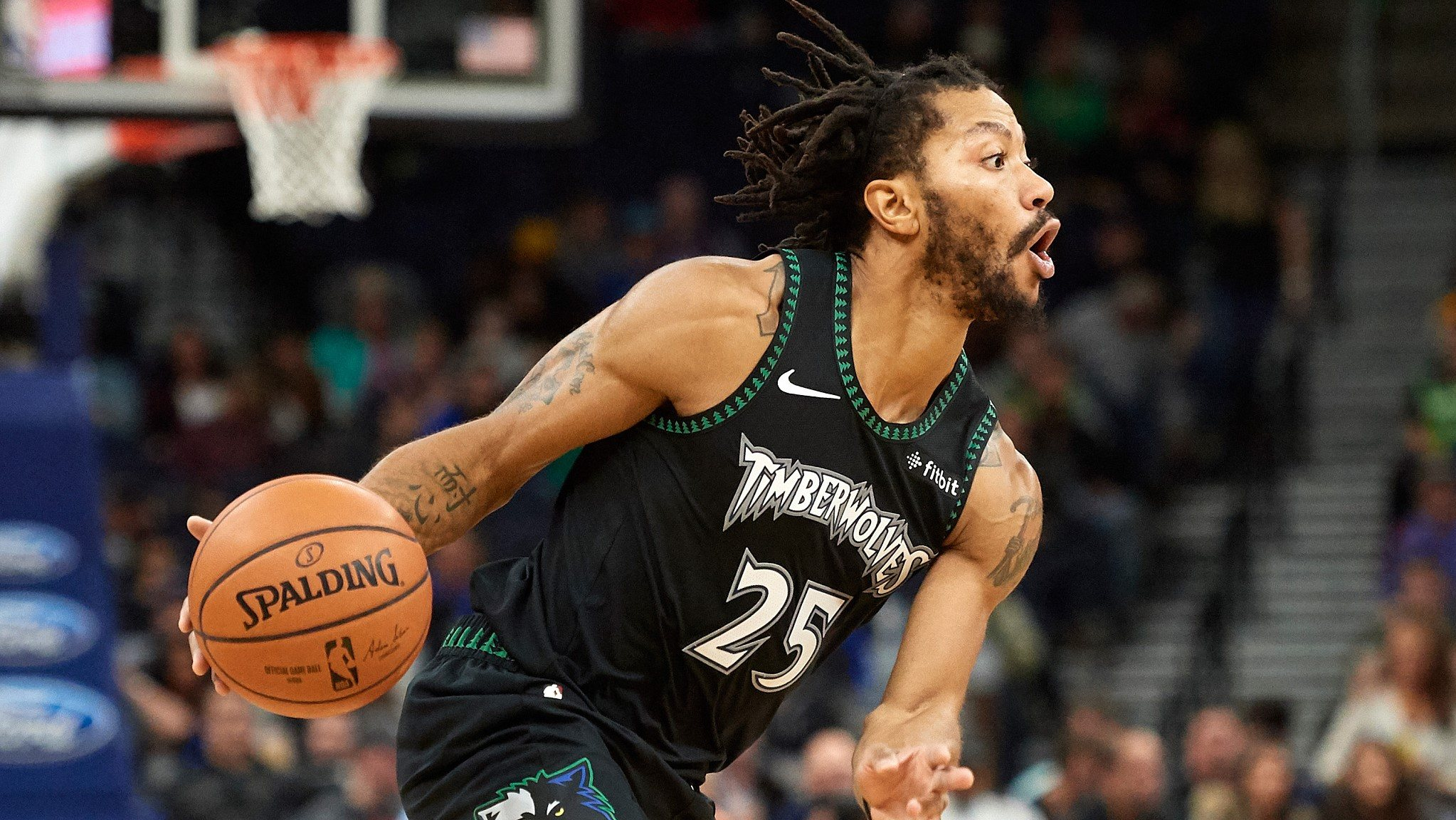 bb7799a1 NBA highlights on Oct. 31: Rose erupts for 50-point game against Utah.  Copied. Li Xiang. QR. Minnesota's Derrick Rose had the best night of his  career on ...