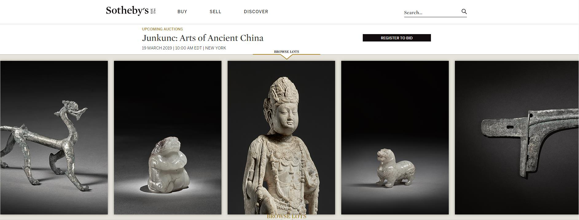Sotheby's Asia Week auctions to feature Chinese art pieces - CGTN
