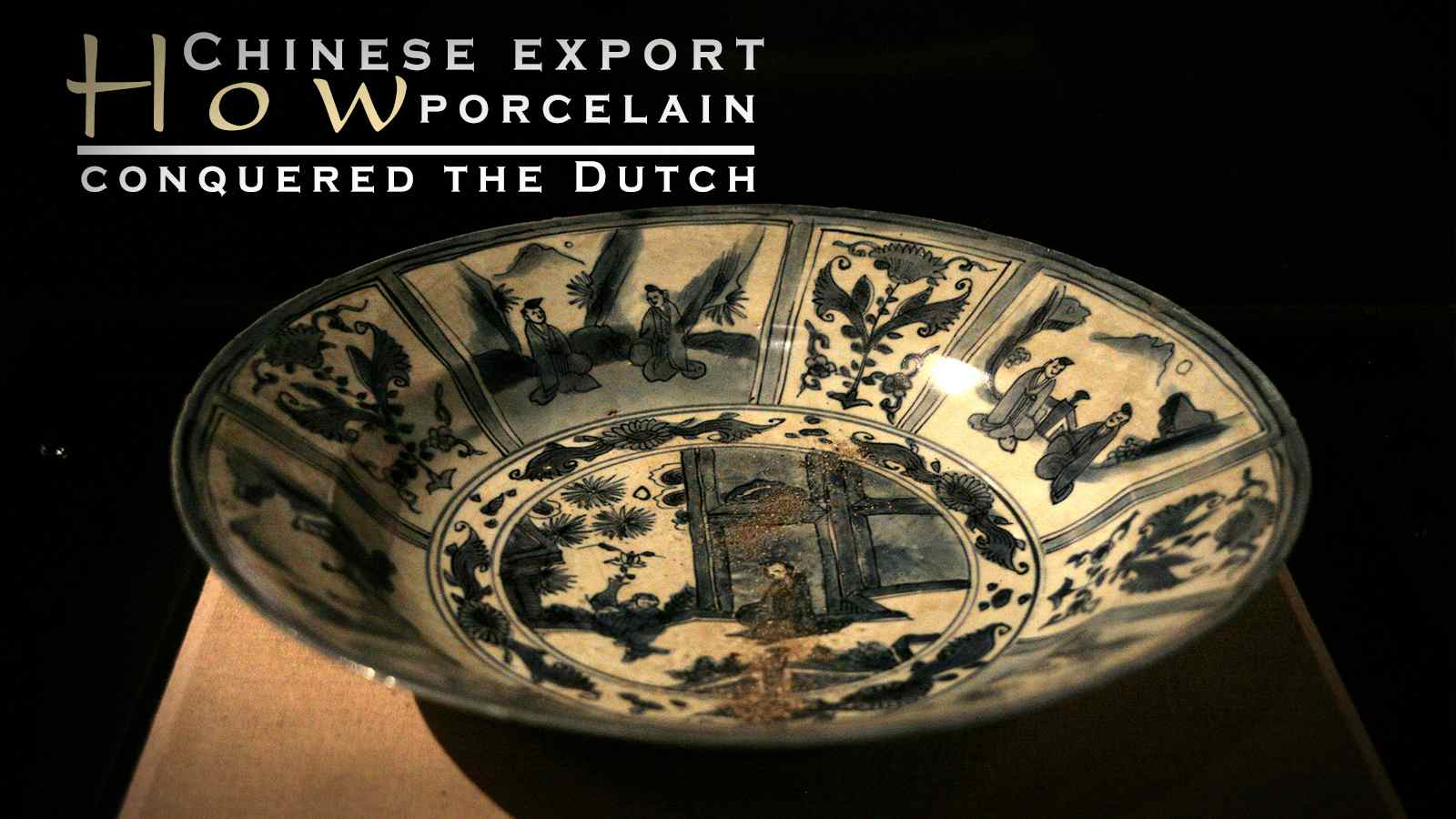 How Chinese export porcelain conquered the Dutch - CGTN