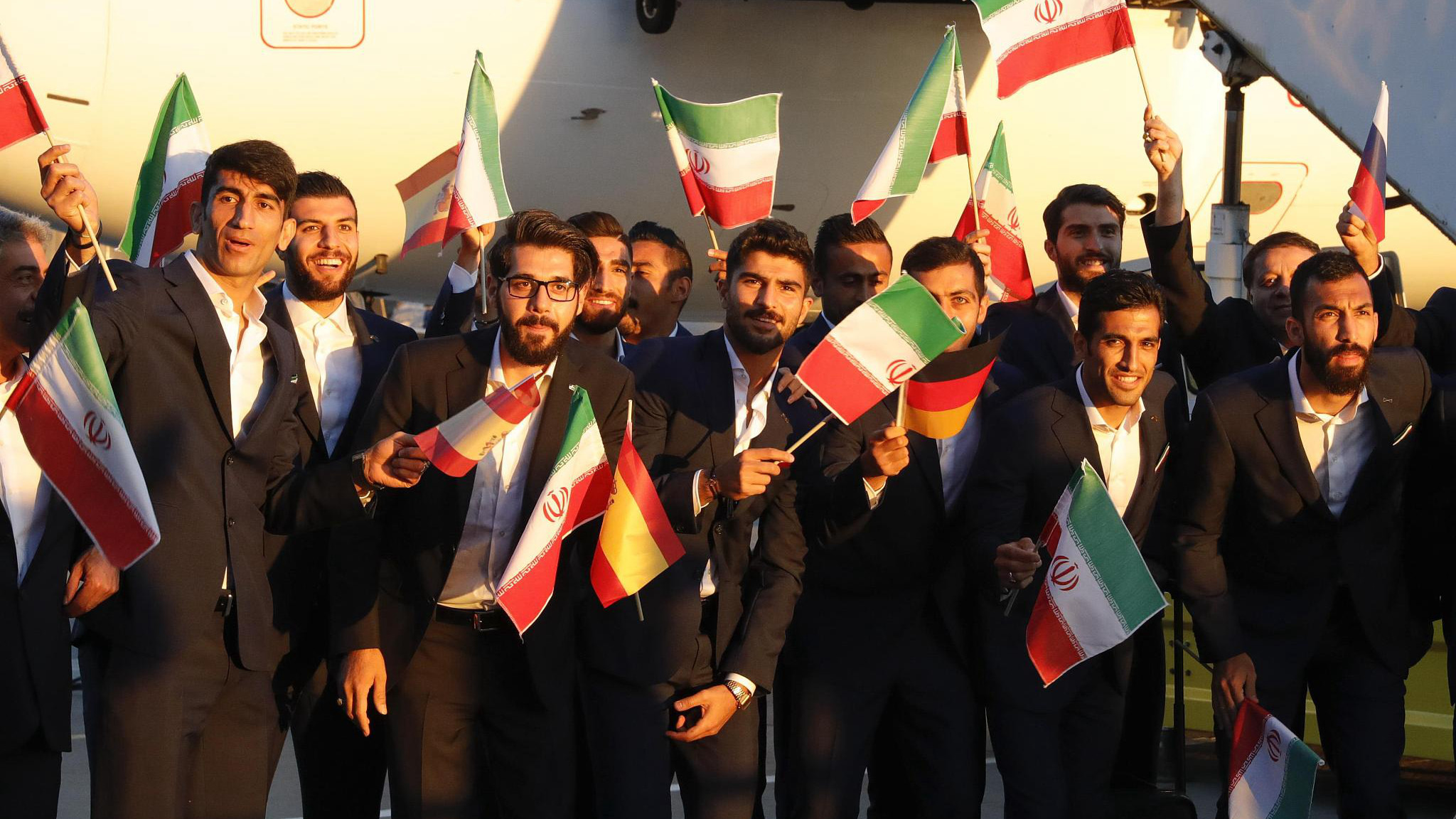 Image result for iran arrive russia