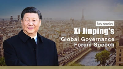 Citaten Strijd Xi : Key quotes from president xi s global governance speech in france
