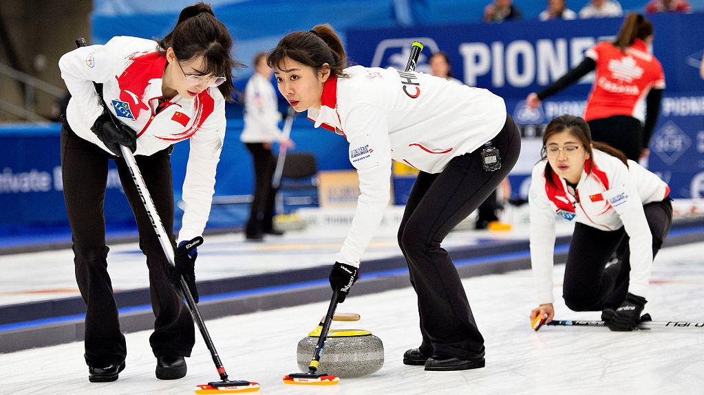 China secure play-off place at Women's Curling World Championship - CGTN
