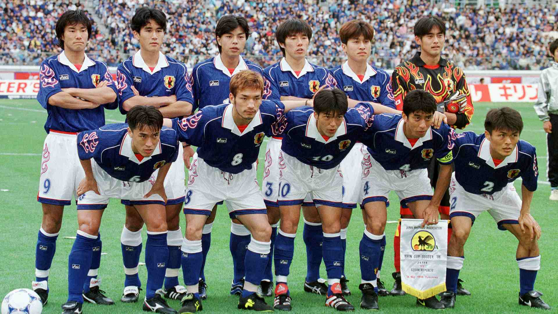 Image result for japan football team 1998