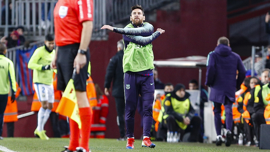 e26f116cbb2 Lionel Messi came off the bench to inspire Barcelona to a 3-1 win over a  dogged Leganes side on Sunday, creating one goal and scoring another to  keep the ...