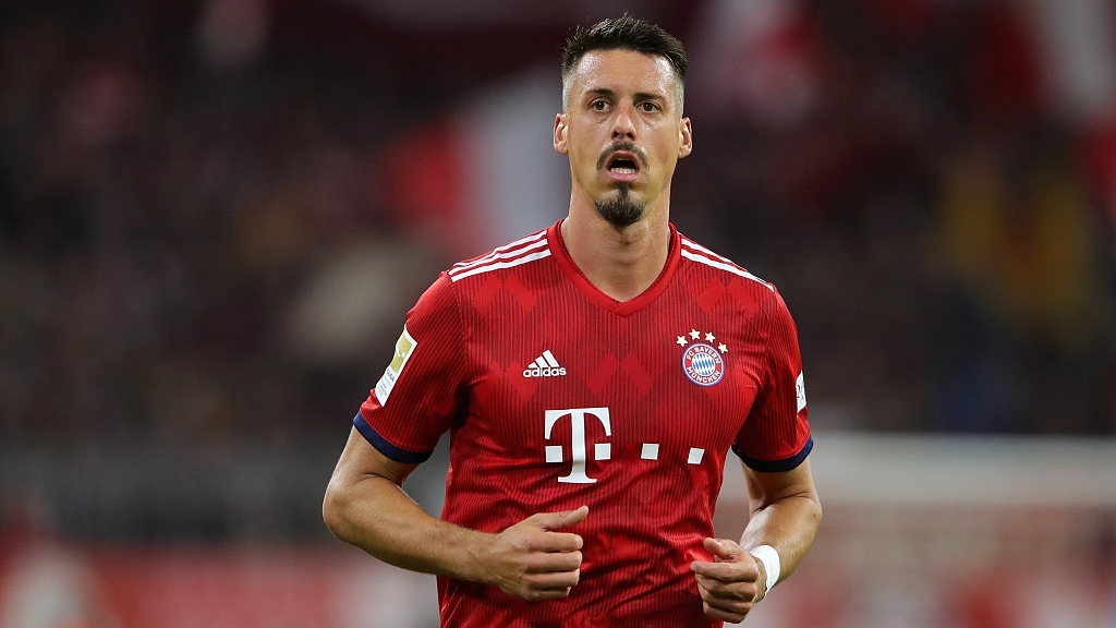 German Striker Sandro Wagner Leaves Bayern Munich For Tianjin Teda