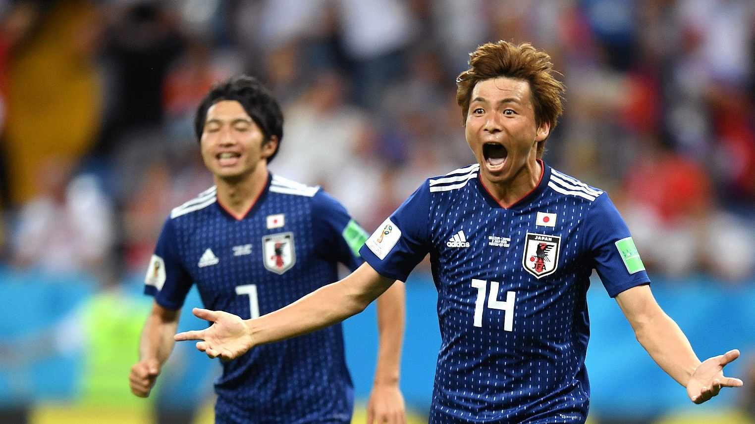 e00da16e1 Japan gain respect with Samurai Blue spirit - CGTN