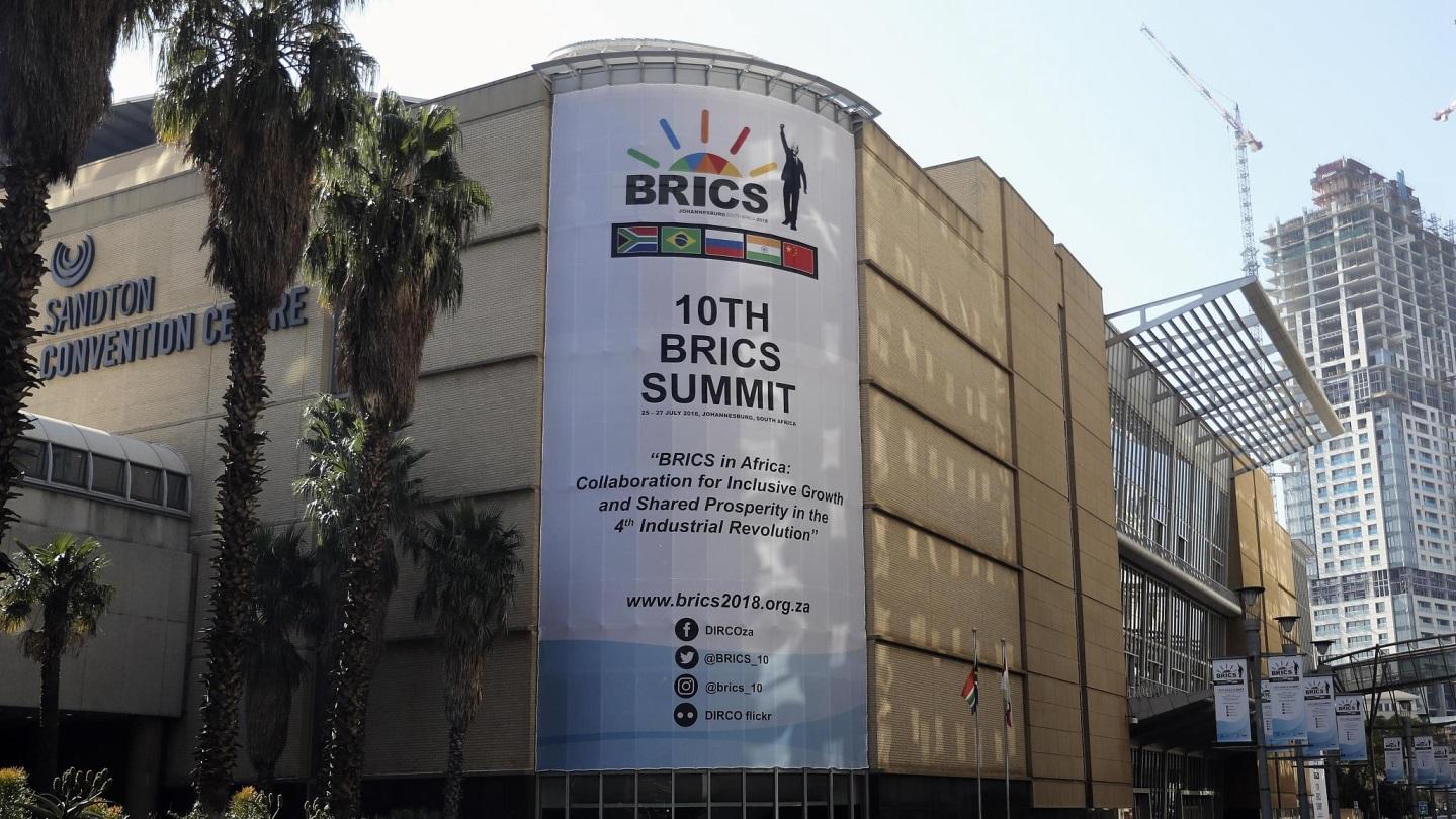 """Résultat de recherche d'images pour """"South Africa BRICS Summit, july 2018"""""""