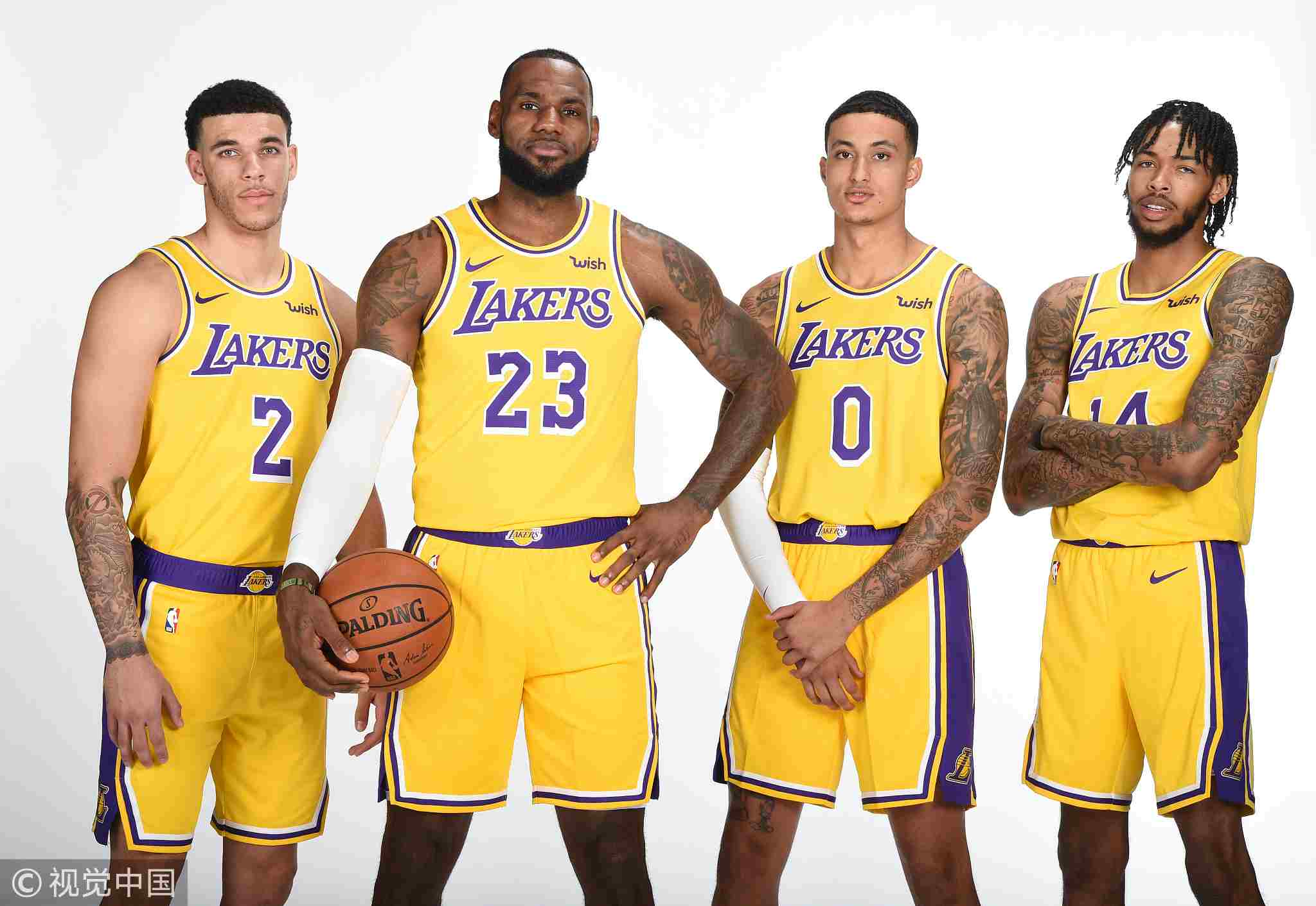 LeBron admits Lakers aren't on Warriors level yet - CGTN