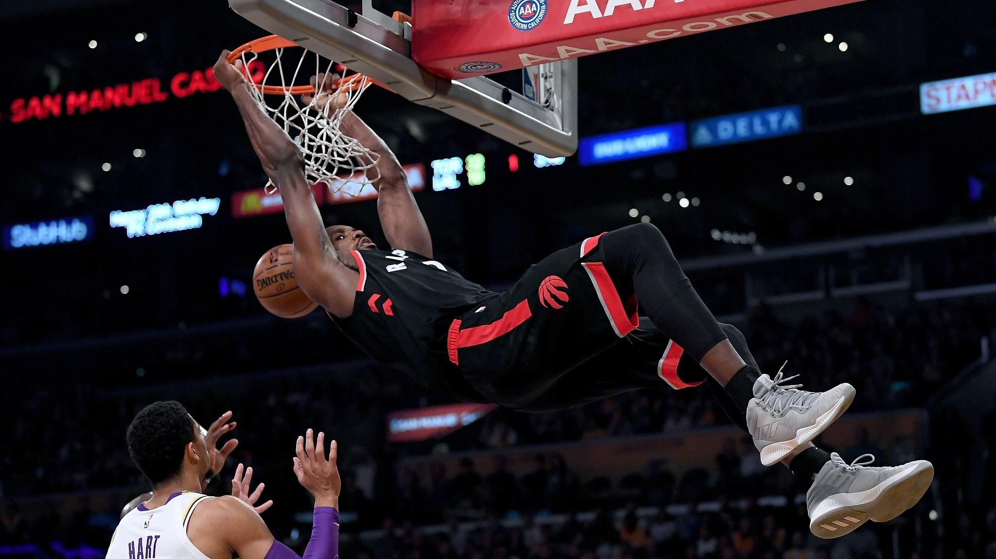 22ebfcfd6 NBA highlights on Nov. 4  Raptors humiliate Lakers without Kawhi ...