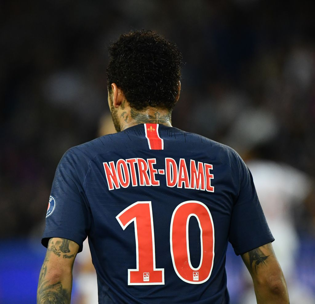 detailed look 8381a dfe24 PSG's Notre-Dame jerseys sold out in 30 minutes - CGTN