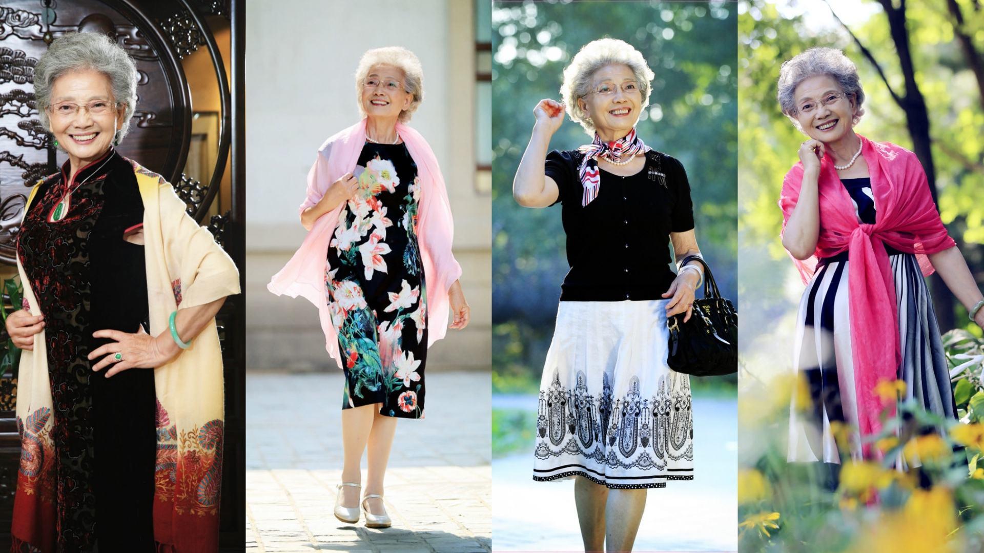 Usia Sudah 88 Tahun, Model ini Masih Aktif dan Cantik