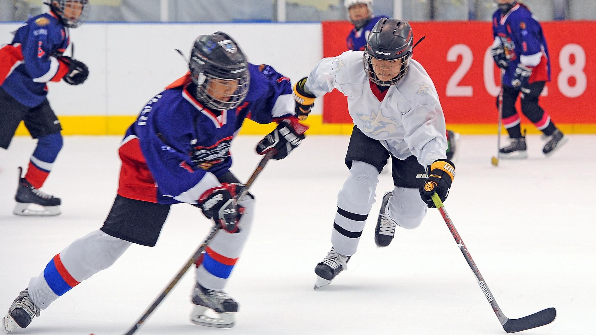 China To Launch Ice Hockey Tournaments For Teenagers In October Cgtn