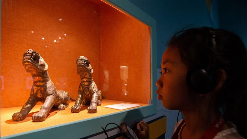 Animal themed cultural relics exhibited in E China - CGTN
