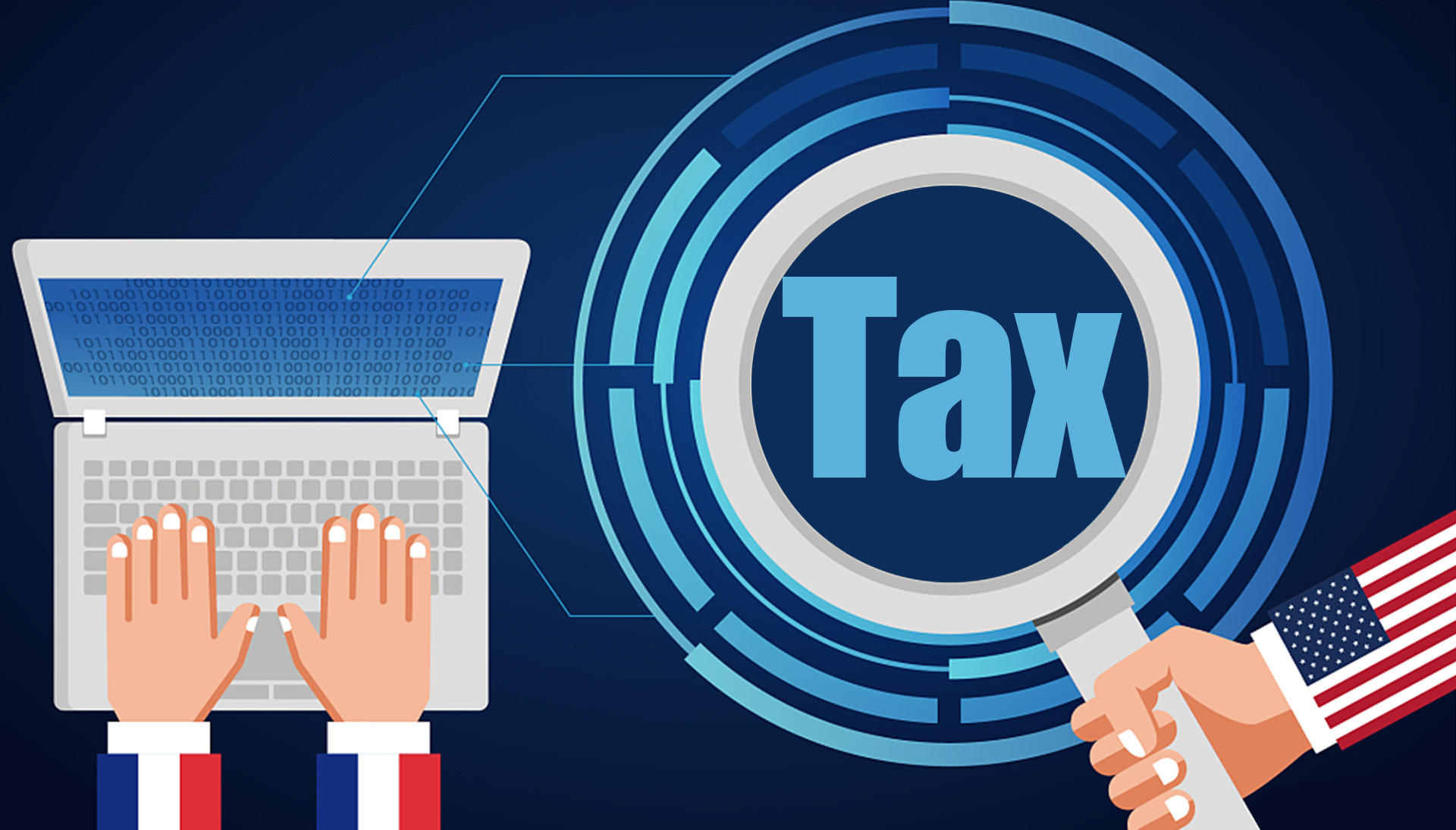 01 >> France Passes Law Taxing Digital Giants In Defiance Of U S Threats