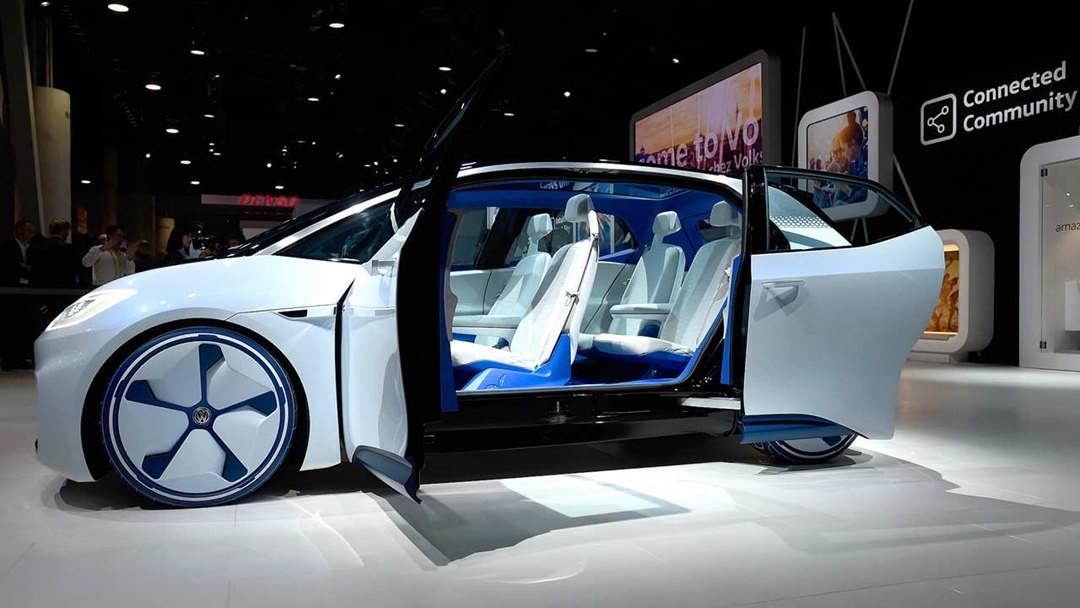 Shanghai Auto Show More Techauto Alliances Expected CGTN - Car show in vegas 2018