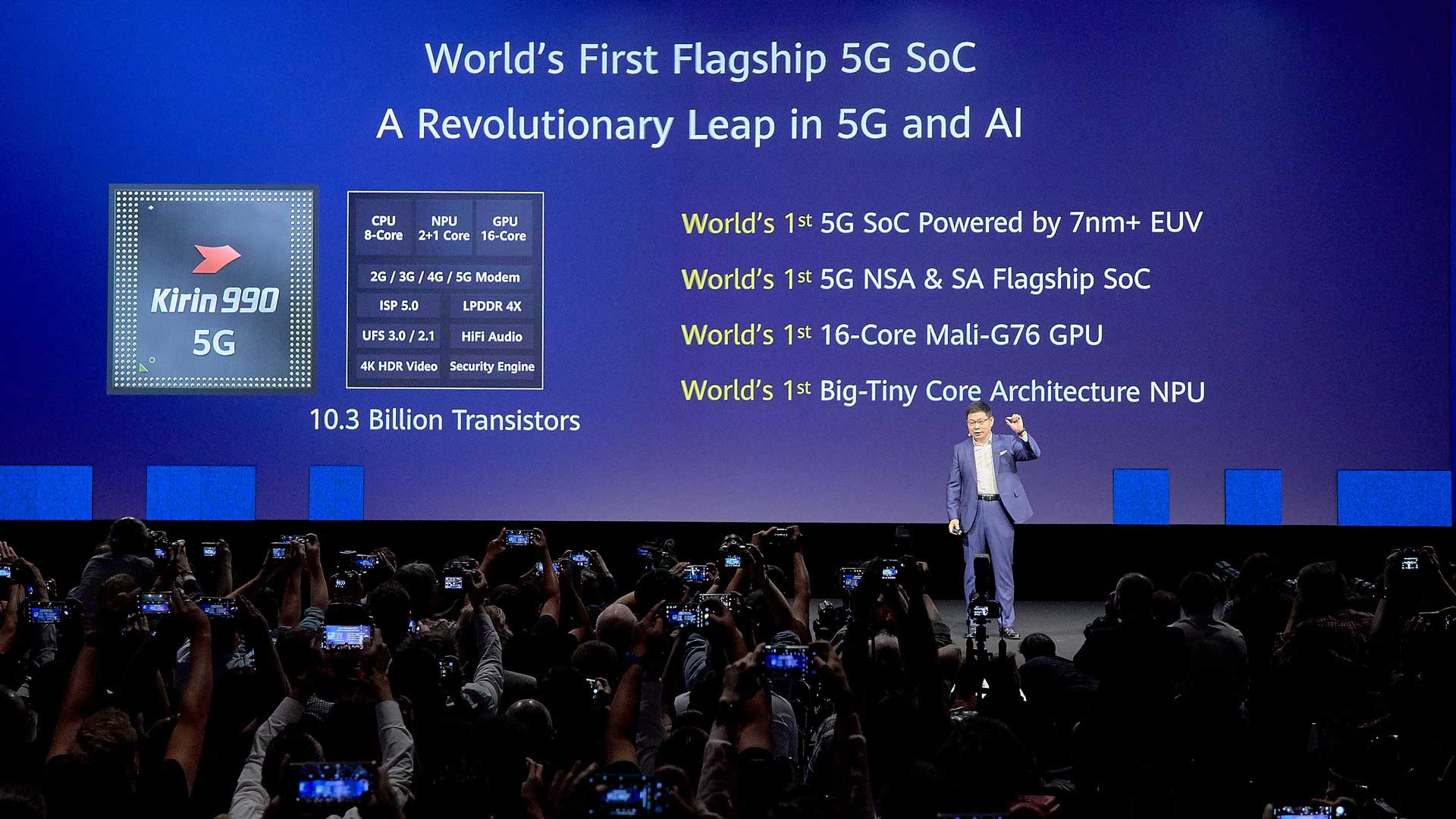 Smartest and fastest': Huawei reveals new cellphone chip