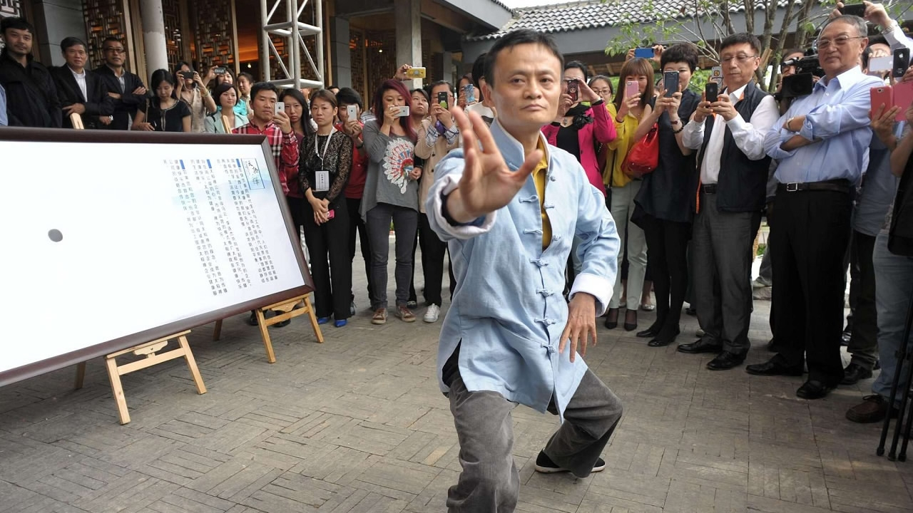 Kung fu fan Jack Ma weighs in on tai chi vs  MMA fight - CGTN