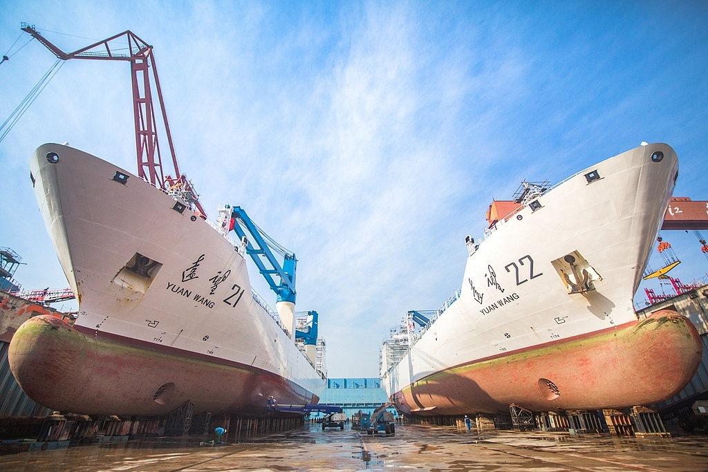 China's two largest shipbuilding giants plan merger - CGTN