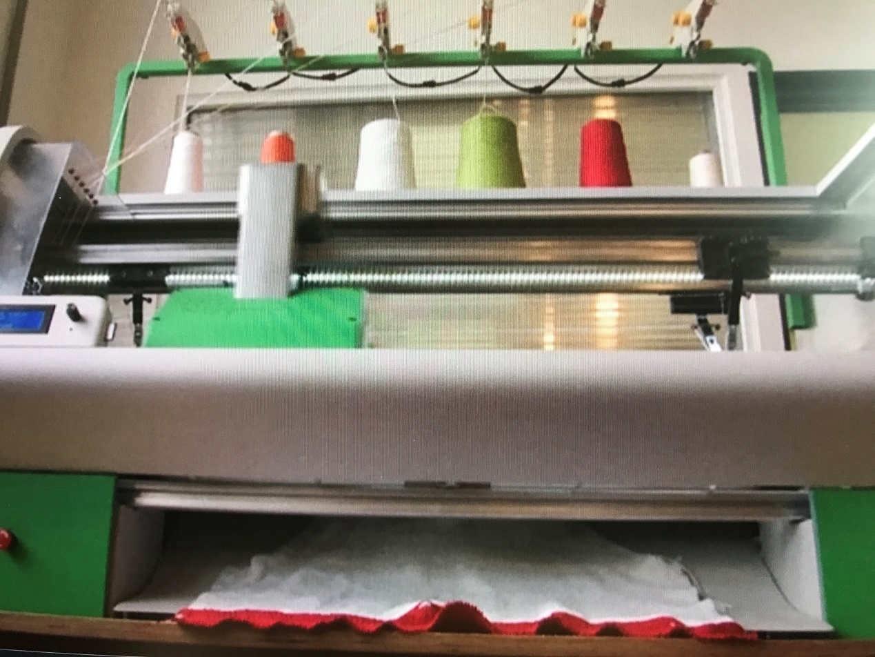 Knitting Equipment London : Digital knitting machine empowers designers cgtn
