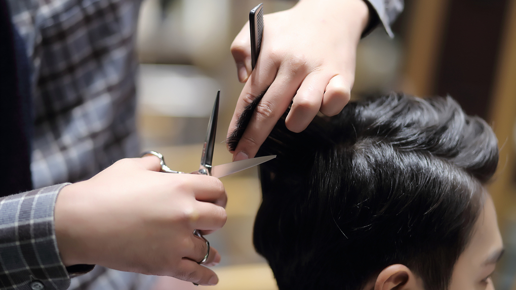 Live Hair And Beauty Industry Back On Track Cgtn