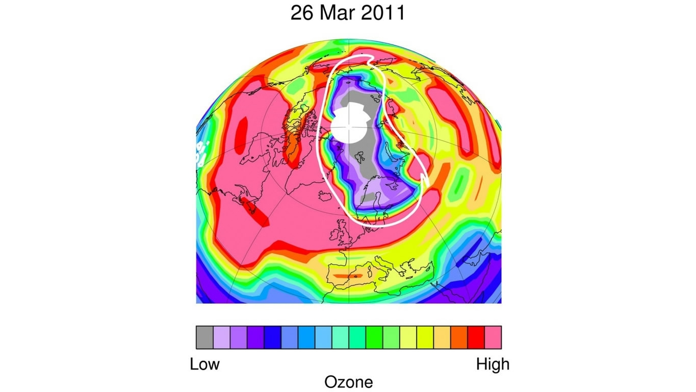a study of the ozone