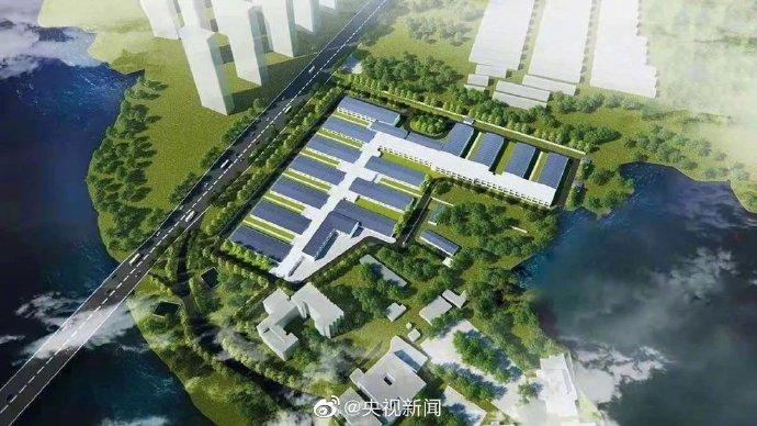 wuhan hospital construction