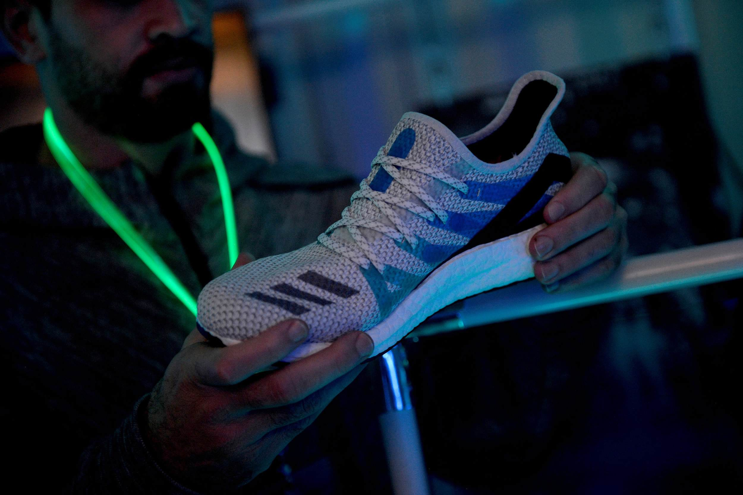 72eec2c5261 Under threat: Could robots replace human workers at Nike and Adidas ...