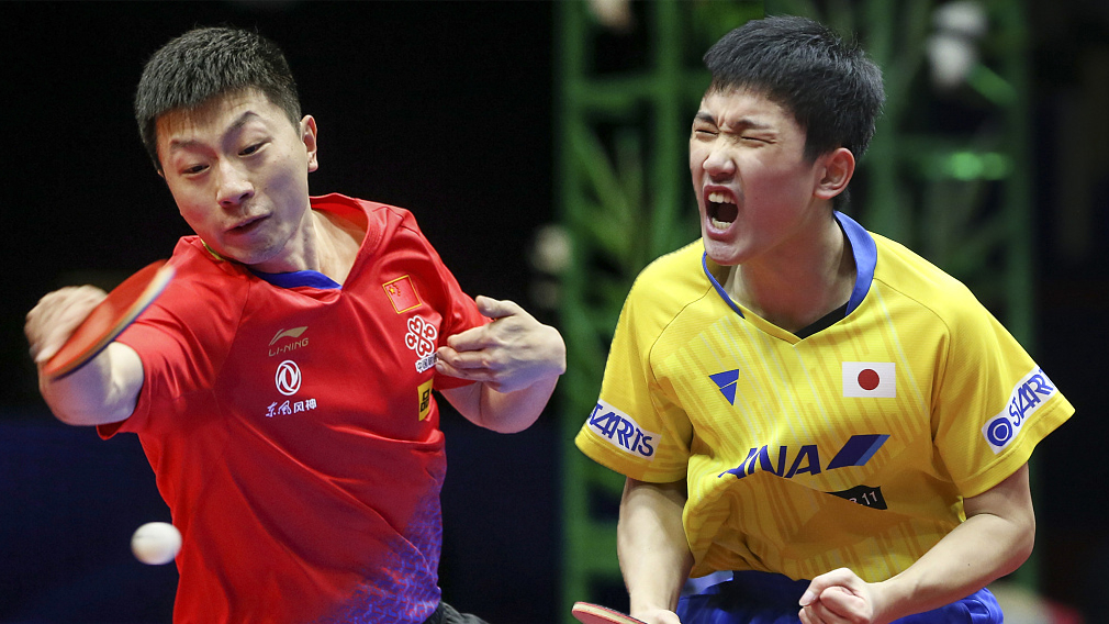 China's Ma Long to meet Harimoto of Japan in semi-final of World Cup - CGTN