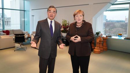 Wang Yi: China-Germany trust, cooperation to be enhanced after coronavirus epidemic