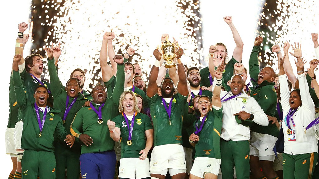 South Africa Beats England 32 12 Wins 3rd Rugby World Cup Title Cgtn