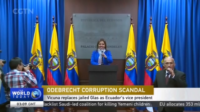 Odebrecht Corruption Scandal: Vicuna replaces jailed Glas as