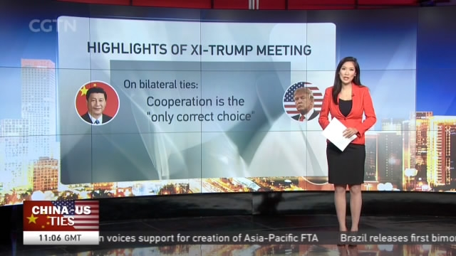 Highlights of Xi-Trump Meeting - CGTN